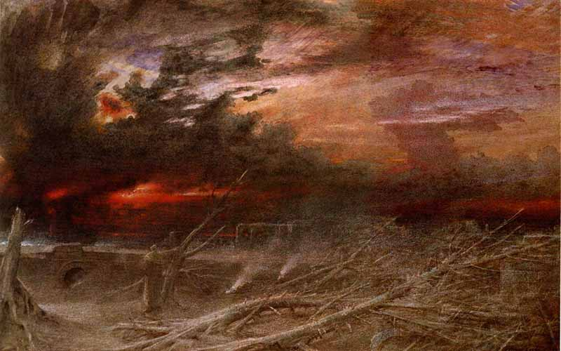 Apocalypse by Albert Goodwin