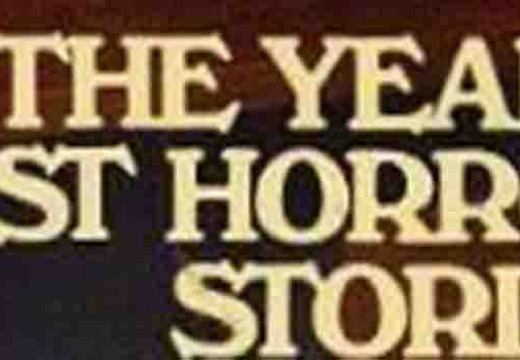 Re-Read This: The Year's Best Horror Stories