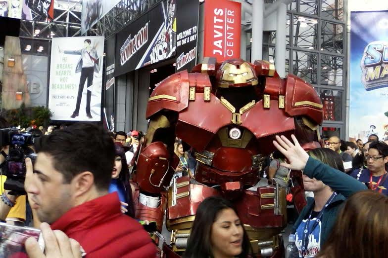 NYCC Big characters, big crowds