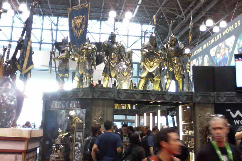 NYCC WoW booth