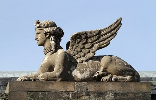A sphinx, one of The Stress of Her Regard's vampires