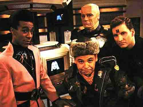 The charming crew of Red Dwarf