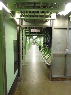 Inside a silo