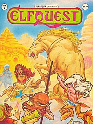 Elfquest # 5, Warp Graphics