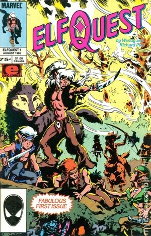 Elfquest # 1, Marvel