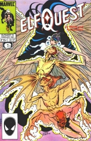 Elfquest 19, and some elf magic
