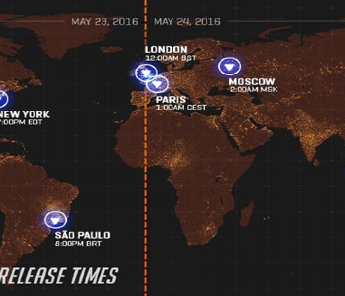 Overwatch Worldwide Launch–When and Where