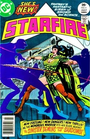 Starfire # 6, fighting the good fight