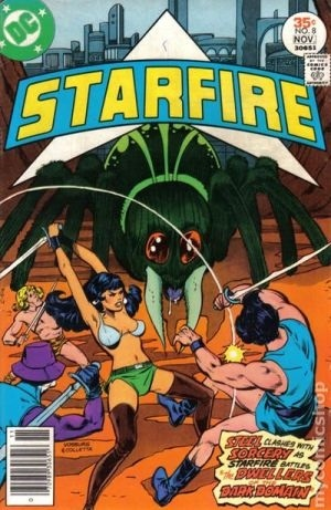 Starfire # 8, the last of her