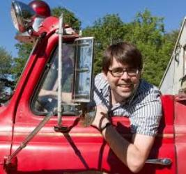 Joe Hill as a fireman