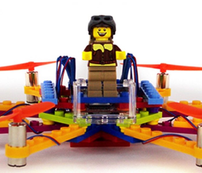 Flybrix Markets Build-Your-Own LEGO Drone Kits