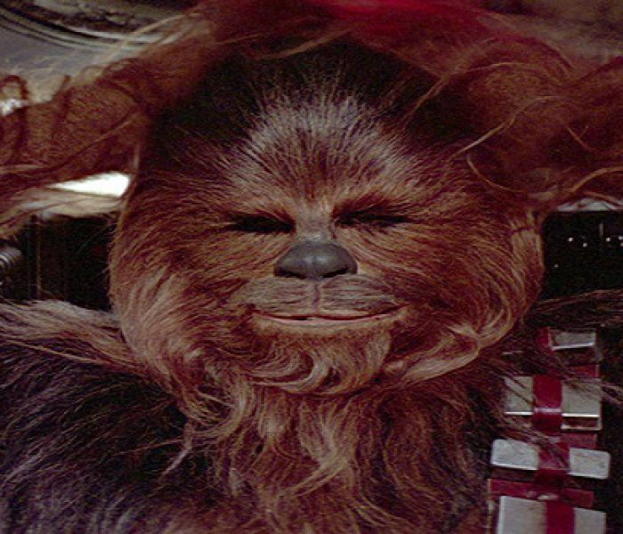 Chewbacca Sings Silent Night in New Video