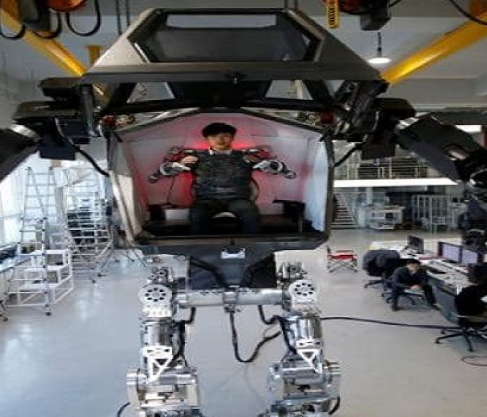 Meet Method-2, the First Manned Bipedal Robot
