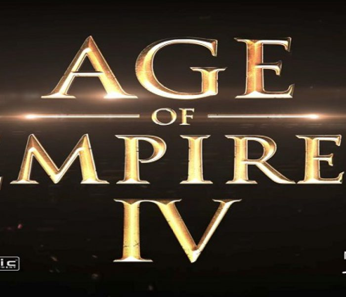 Age of Empires IV In the Works