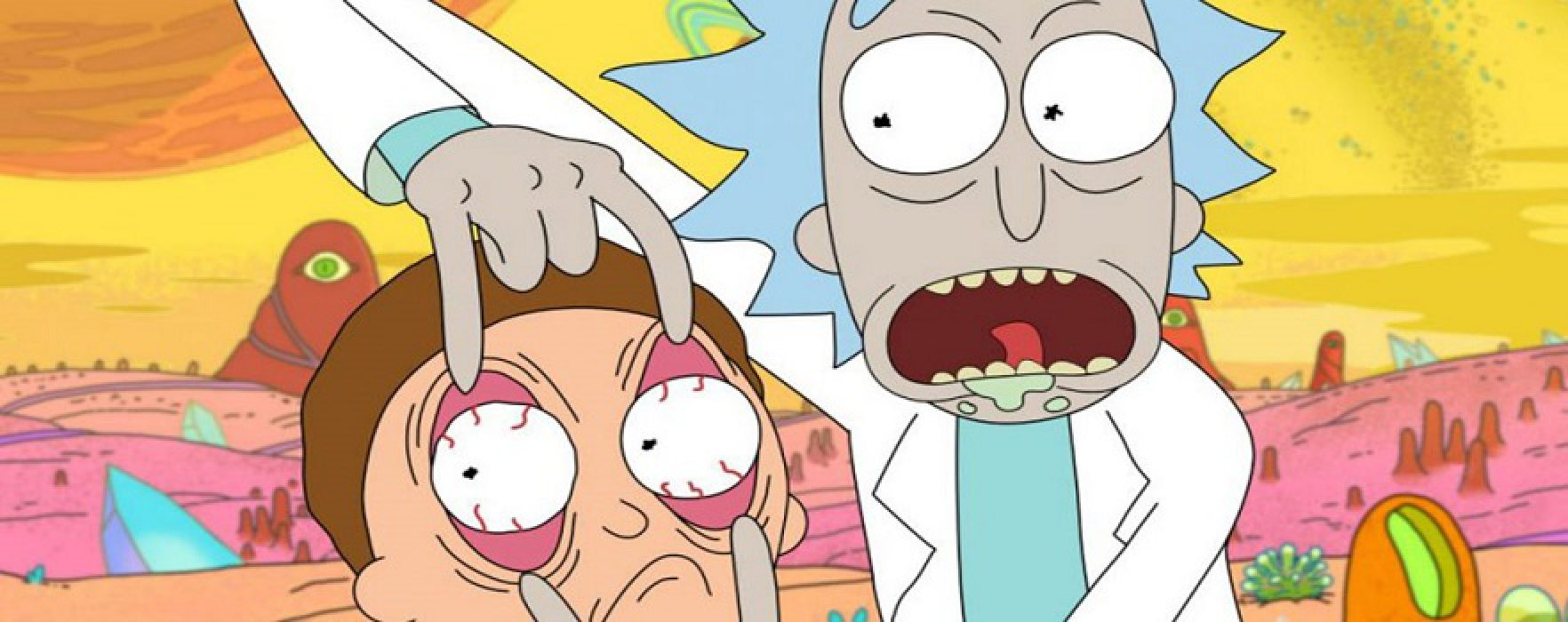 Rick and Morty Takes Home an Emmy