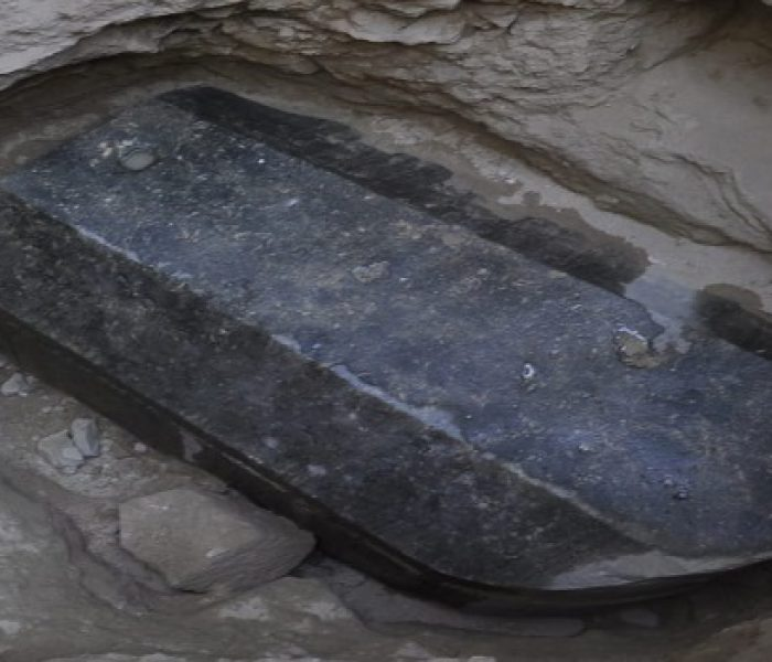 What's in the Giant Black Granite Sarcophagus?