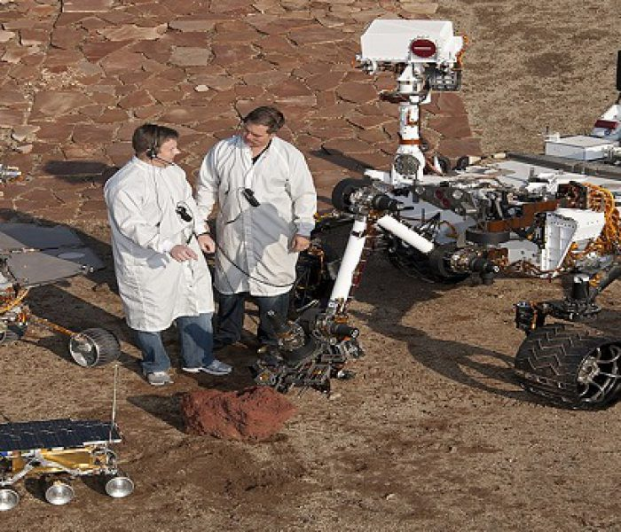 NASA Offering Free Plans for DYI Mars Rover